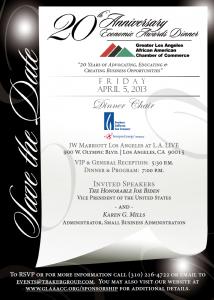 GLAAACC 20th Anniversary Economic Awards Dinner
