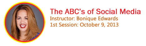 Bonique Edwards's ABC's of Social Media