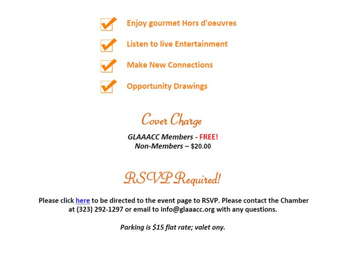 GLAAACC Summer Membership Mixer #1  7-7-15