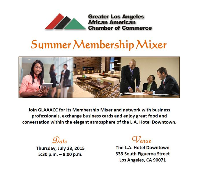 GLAAACC Summer Membership Mixer 7-7-15